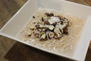 porridge-with-banana-cacao-hazelnuts-and-coconut